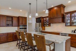 Custom Kitchen Glass Doors - StyleCraft Cabinetry